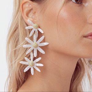 For Love and Lemons Lucite Daisy Earrings